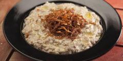 طبق تقليدي إماراتي يقدم عادة وجبة إفطار في رمضان مميزة جدا