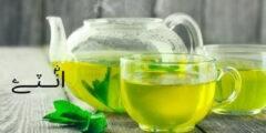 أهم 12 فوائد الشاي الاخضر الصحية للبشرة التنحيف الكرش الحامل