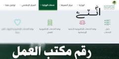 رقم مكتب العمل السعودية مباشر لاستقبال الاستفسارات 1442
